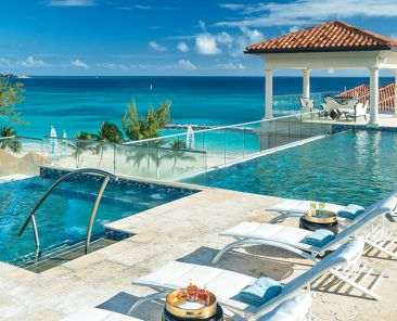 At Sandals Barbados, the rooftop pool is a first for a Sandals Resort Photo Credit Sandals Resorts